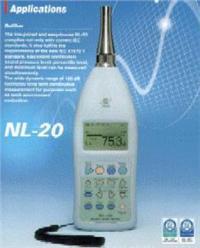 NL-20數字聲級計 0137