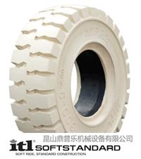 供应叉车轮胎500-8白色环保胎