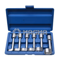 6 Pcs Diesel Injector Line Socket Wrench Set