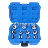 11 Pcs Bolt Extractor Socket Set