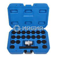 22 Pcs Audi Locking Wheel Nut Key Set