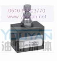 YRUN  ASC-06 ASC-08  油研流量控制阀 ASC-06 ASC-08