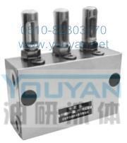双线分配器 KS-43 KS-44 KS-51 油研双线分配器 YOUYAN双线分配器 KS-43 KS-44 KS-51