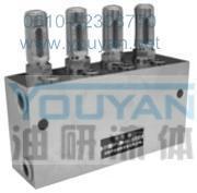 双线分配器 1SDPQ-L3 2SDPQ-L3 3SDPQ-L3 4SDPQ-L3 油研双线分配器 YOUYAN双线分配器  1SDPQ-L3 2SDPQ-L3 3SDPQ-L3 4SDPQ-L3