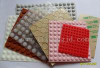 廣東矽橡膠腳墊,單面帶不幹膠的矽橡膠墊,矽橡膠腳墊價格