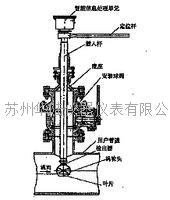 插入式切向涡轮皇冠计传感器结构