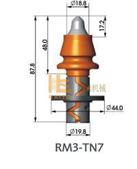 铣刨机刀头 RM3-TN7