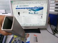 辦公樓大理石掛件用無縫不銹鋼矩形管 120*80*5