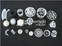 散堆塑料填料 共轭环、鲍尔环、花环、海尔环