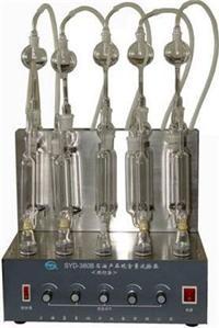 石油产品硫含量试验器 (燃灯法) SYD-380(B)