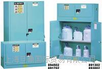 8930021进口justrite 30加仑蓝色腐蚀品存放安全柜促销