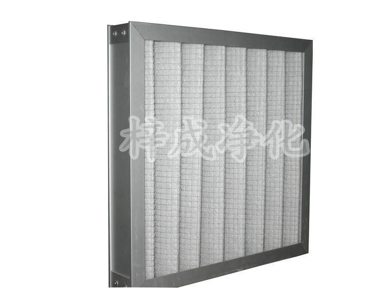 铝框板式中效过滤器
