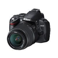 Nikon尼康D3000单反数码相机(AF-S DX 18-55mm f/3.5-5.6G ED II) (黑色)