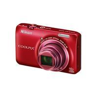 Nikon尼康COOLPIX S6300 便携数码相机(红色)