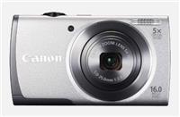 Canon佳能PowerShot A2600数码相机套装(银色)