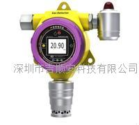 固定在线式氢气带检测带声光带报警一体机
