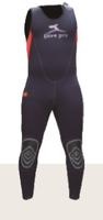 5毫米分体式潜水湿衣(连体下衣) Manta Long John 5mm