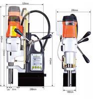 台湾AGP MD500/2 便携式磁力钻