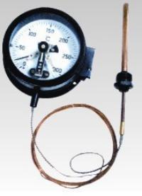 供应电接点压力式温度计/生产厂家直销定做各种规格长度 wtz/wtq