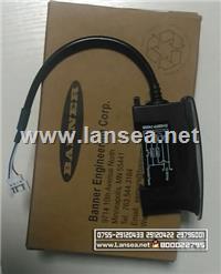 BANNER 光纤传感器D10BFP-74036