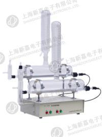 上海新嘉電子自動雙重蒸餾水器ZS-200