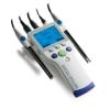 梅特勒SevenGo Duo专业型便携式pH/离子浓度/电导率多参数测试仪SG78-FK-ISM