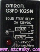 日本欧姆龙G3FD-102SN固态继电器 G3FD-102SN