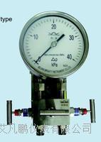 布莱迪YCA100双膜片式高静压差压表 YCA-100