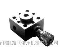TG025-J1C/b-20-0,插装阀控制盖板
