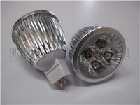 4*1W LED 车铝灯杯 节能LED杯灯  GD-MR16W0401