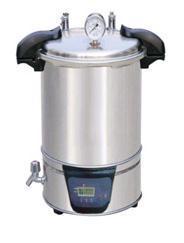 手提式18L不锈钢蒸汽灭菌器SYQ-DSX-280A,不锈钢蒸汽灭菌器哪里有卖? SYQ-DSX-280A