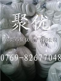 東莞Φ28.0mm Φ30.0mm Φ25mm白色7KV硅橡膠玻纖套管