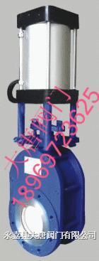 Z674TC耐磨陶瓷出料阀