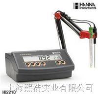 哈纳HI2210 实验室pH/温度测定仪 HI2210
