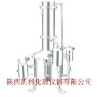 不鏽鋼塔式蒸汽重蒸餾水器