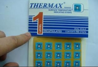 英国TMC温度美变色示温纸THERMAX单格温度热敏试纸