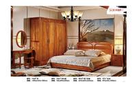 床+床头柜+四门衣柜+妆台