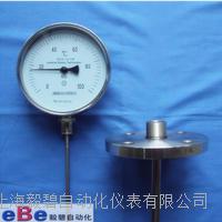 防护型不锈钢双金属温度计/法兰套管温度计WSS-514W WSS-514W