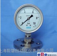 威卡隔膜耐震压力表/威卡压力表/Y-100BFZ/MF EN837-1