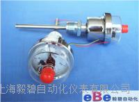 不锈钢轴向电接点双金属温度计WSSX-303 WSSX-303