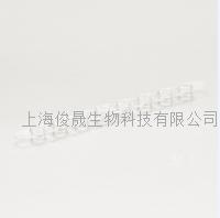 标准光学半圆型荧光定量PCR八联管平盖 GP-FC8010L