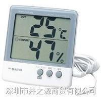 1050-00数字式温湿度表,温湿度记录仪,日本SATO电子式温湿度仪 PC-5000THR II/1050-00