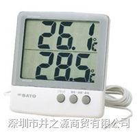 PC-6800/1060-00数字式温湿度表,温湿度记录仪,日本SATO电子式温湿度仪 PC-6800/1060-00