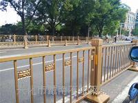 长安街 不锈钢栏杆 金色防撞护栏 北重合作生产厂家 齐全