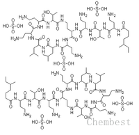 硫酸粘杆菌素 Colistin sulphate(Colistin sulfate) CAS:1264-72-8