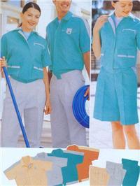 珠海工厂制服-夏装工作服