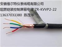 阻燃铠装控制屏蔽电缆 ZR-KVVP2-22-10*4
