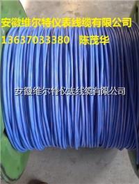 IA-DJFGPR-2*1.5本安硅橡胶电缆  氟塑料绝缘硅橡胶护套本安型DCS用屏蔽电缆   维尔特牌