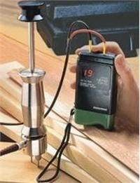 德国Lignomat插针式DX/C型木材测湿仪/水分仪/测水仪电极锤套装Mini-Ligno DX/C