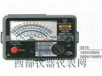 指针式绝缘测试仪 3315